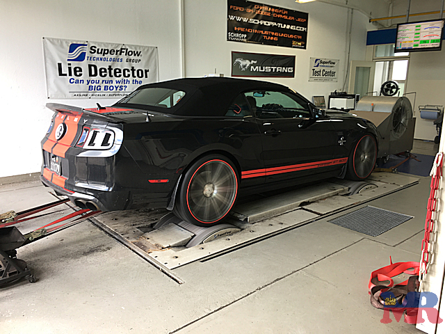 Ford Mustang Shelby GT500 Black Beast