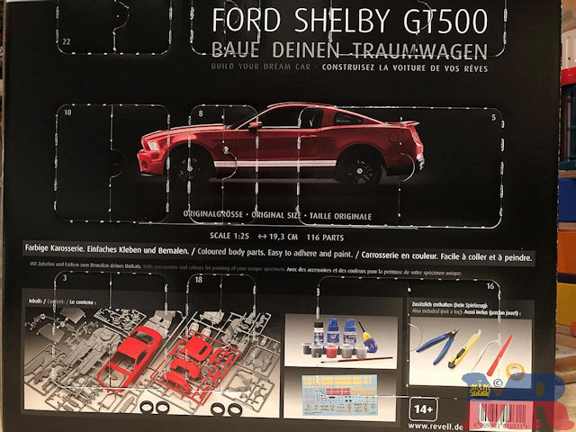 Ford Mustang Shelby GT500 Cabrio Revell Model